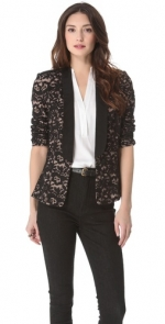 Lace blazer by Madison Marcus at Shopbop