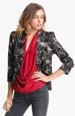 Lace blazer like Zoe Harts at Nordstrom