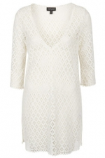 Lace coverup from Topshop at Topshop
