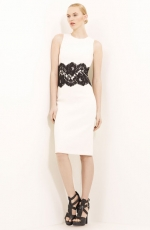 Lace detail dress by Michael Kors at Nordstrom