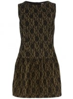 Lace drop waist dress at Dorothy Perkins