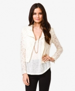 Lace jacket at Forever 21 at Forever 21