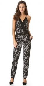 Lace jumpsuit by Diane von Furstenberg at Shopbop