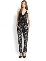 Lace jumpsuit by DvF at Saks Fifth Avenue