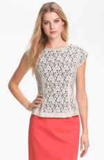 Lace pelum top by Halogen at Nordstrom at Nordstrom