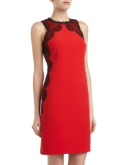 Lace side dress by Donna Morgan at Last Call