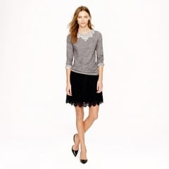 Lace skirt at J. Crew