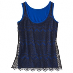 Lace tank by Mossimo at Target