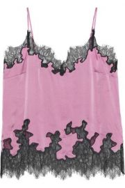 Lace trim camisole at The Outnet