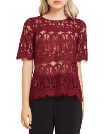 Lace tunic top by Bcbgeneration at Lord & Taylor