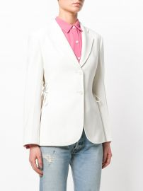 Lace-up Detail Blazer by Theory at Farfetch
