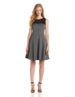 Lace yoke dress by Tracey Reese at Amazon