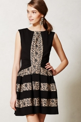 Laced Strata Dress at Anthropologie