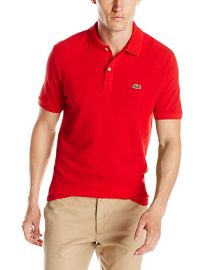 Lacoste Red Polo at Amazon