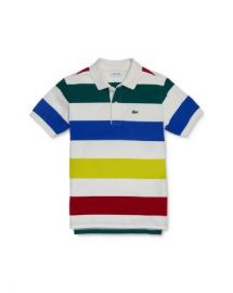 Lacoste Boys  x27  Striped Polo Shirt - Little Kid  Big Kid Kids - Bloomingdale s at Bloomingdales