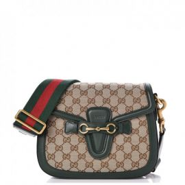 Lady Web GG Canvas Shoulder Bag at Gucci