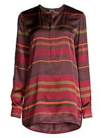Lafayette 148 New York - Autumn Stripe Tunic Blouse at Saks Fifth Avenue