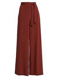 Lafayette 148 New York - Jackson Stretch Silk Wide-Leg Pants at Saks Fifth Avenue