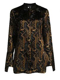 Lafayette 148 New York - Marybeth Geometric Print Blouse at Saks Fifth Avenue
