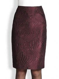 Lafayette 148 New York - Revelin Scroll Jacquard Skirt at Saks Fifth Avenue