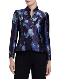 Lafayette 148 New York Patterned Two Button Jacket at Lord & Taylor