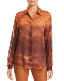 Lafayette 148 New York Zora Printed Silk Blouse Women - Bloomingdale s at Bloomingdales