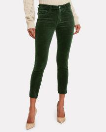 Lagence Margot Velvet Jeans at Intermix