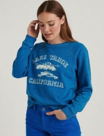 Lake Tahoe Crew Pullover at Lucky Brand