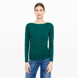 Lana Button Sweater at Club Monaco