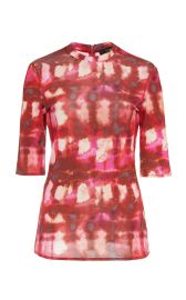 Land Of The Lost Tie-Dye Cotton Top by Ellery at Moda Operandi