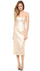 Land039Wren Scott Strapless Detailed Dress at Shopbop