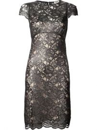 Land39agence Metallic Lace Dress - at Farfetch