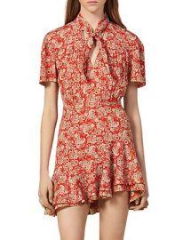 Lane Paisley Mini Dress at Bloomingdales
