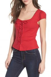 Laney Lace-Up Top at Nordstrom Rack