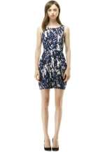 Lanna printed dress at Club Monaco