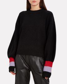 Lansing Colorblock Cuff Sweater at Intermix