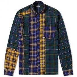 Lanvin Patchwork Check Shirt x at End