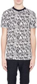 Lanvin Abstract-Animal-Print T-Shirt at Barneys