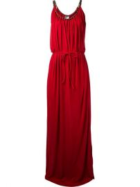 Lanvin Draped Sleeveless Gown - at Farfetch