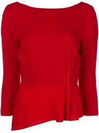 Lanvin Peplum Blouse - Farfetch at Farfetch