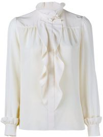 Lanvin Ruffle Blouse - at Farfetch