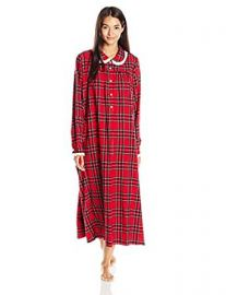 Lanz Women s Classic Cotton Flannel Peter Pan Nightgown at Amazon
