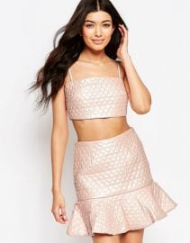 Lashes of London  Lashes Of London Candy Heart Bralet at Asos