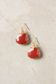 Last Snow Drops in Coral at Anthropologie