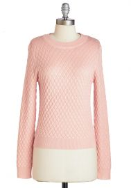 Lattice Stay Together Sweater at ModCloth