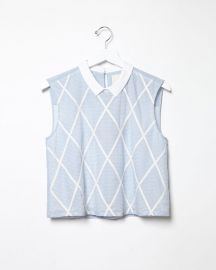 Lattice Top by Band of Outsiders at La Garconne