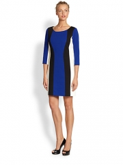 Laundry by Shelli Segal - Colorblock Ponte Dress at Saks Fifth Avenue