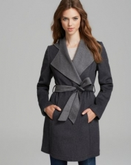 Laundry by Shelli Segal Coat - Double Face Hooded at Bloomingdales