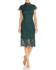 Laundry by Shelli Segal Embroidered Lace Illusion Dress Women - Bloomingdale s at Bloomingdales