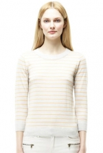 Laurel's striped sweater by Club Monaco at Club Monaco